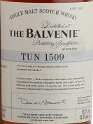 百富1509号桶第3批次苏格兰单一麦芽威士忌(The Balvenie Tun 1509 Batch No.3 Single Malt Scotch Whisky,...)