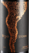 暴风加州干红葡萄酒(Wind Storm Red Wine,California,USA)