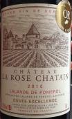 夏丹玫瑰酒庄红葡萄酒(Chateau La Rose Chatain, Lalande-de-Pomerol, France)