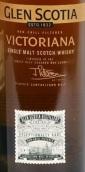 格兰斯柯蒂亚维多利亚时代苏格兰单一麦芽威士忌(Glen Scotia Victoriana Single Malt Scotch Whisky,Campbeltown...)