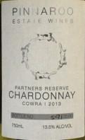 平纳鲁酒庄霞多丽白葡萄酒(Pinnaroo Estate Wines Chardonnay,Cowra,Australia)