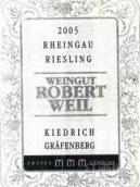 罗伯特威尔格拉芬贝格园雷司令精选白葡萄酒(Weingut Robert Weil Kiedrich Grafenberg Riesling,Kiedrich,...)
