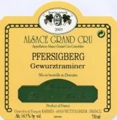 巴尔梅布彻弗西格伯琼瑶浆白葡萄酒(Domaine Barmes-Buecher Gewurztraminer Pfersigberg,Alsace ...)
