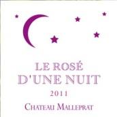 麻栗坡酒庄一夜桃红葡萄酒(Chateau Malleprat Le Rose D'une Nuit,Pessac-Leognan,France)