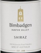 毕巴乔西拉干红葡萄酒(Bimbadgen Estate Shiraz, Hunter Valley, Australia)