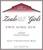 雪松山珍藏两位少女仙粉黛干红葡萄酒(Cedar Mountain Winery Two Girl Reserve Zinfandel,Livermore ...)