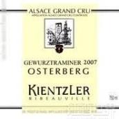 安德列肯恩勒奥斯堡顶级琼瑶浆甜白葡萄酒(Domaine Andre Kientzlerr Osterberg Grand Cru Gewurztraminer,...)