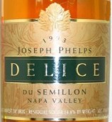 约瑟夫菲尔普斯狄妮诗赛美蓉白葡萄酒(Joseph Phelps Vineyards Delice du Semillon, Napa Valley, USA)