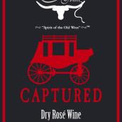 牛车道攻夺甜型桃红葡萄酒(Chisholm Trail Captured Rose,Texas,USA)