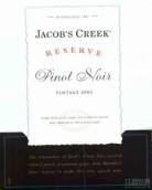 杰卡斯珍藏黑皮诺干红葡萄酒(Jacob's Creek Reserve Pinot Noir,Adelaide Hills,Australia)