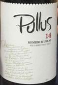 帕拉斯如梦麝香半甜白葡萄酒(Pullus 14 Rumeni Muskat Polsladko Half Sweet,Slovenia)