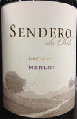 干露天路梅洛干红葡萄酒(Concha y Toro Sendero Merlot, Central Valley, Chile)