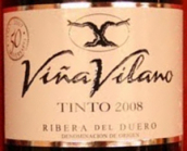 维纳维拉诺酒庄丹魄干红葡萄酒(Bodegas Vina Vilano Tempranillo,Ribera del Duero,Spain)
