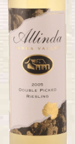 奥林达双选雷司令加强酒(Allinda Double Picked Riesling,Yarra Valley,Australia)