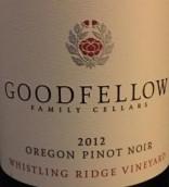 好伙伴之家笛音山岭园黑皮诺干红葡萄酒(Goodfellow Family Cellars Whistling Ridge Vineyard Pinot ...)