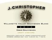 杰伊·克里斯托弗小田园舞步长相思干白葡萄酒(J.Christopher Wines Croft Vineyard Uber Sauvignon,Willamette...)