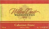 Willow Crest Cabernet Franc,Yakima Valley,USA