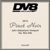 DV8酒庄约翰塞巴斯蒂亚诺园黑皮诺干红葡萄酒(DV8 Cellars John Sebastiano Vineyard Pinot Noir, Sta. Rita Hills, USA)