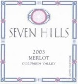 七山梅洛干红葡萄酒(Seven Hills Merlot, Columbia Valley, USA)