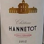 汉尼托特酒庄干红葡萄酒(Chateau Hannetot,Pessac-Leognan,France)