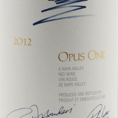 作品一號紅葡萄酒(Opus One, Napa Valley, USA)