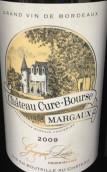 科尤邦斯红葡萄酒(Chateau Cure-Bourse, Margaux, France)