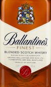 百龄坛特醇苏格兰调和威士忌(Ballantine's Finest Blended Scotch Whisky,Scotland,UK)