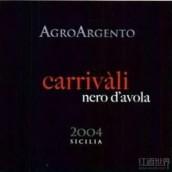 AgroGento 'Carrivali' Nero d'Avola Sicilia IGT,Sicily,Italy