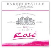 巴伯斯维尔年份桃红葡萄酒(Barboursville Vineyards Vintage Rose, Virginia, USA)