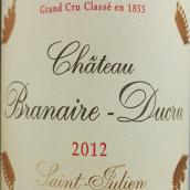班尼杜克酒庄红葡萄酒(Chateau Branaire-Ducru,Saint-Julien,France)