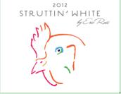 埃里克·罗斯酒庄神气白系列混酿干白葡萄酒(Eric Ross Winery Struttin White,Sonoma County,USA)