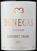 贝内加斯品丽珠干红葡萄酒(Bodega Benegas Estate Cabernet Franc,Mendoza,Argentina)