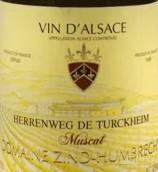 鸿布列什图克汗-埃连维园麝香干白葡萄酒(Domaine Zind-Humbrecht Herrenweg de Turckheim Muscat,Alsace,...)