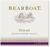 BearBoat Syrah,Russian River Valley,USA