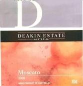 迪金酒庄麝香白葡萄酒(Deakin Estate Moscato, Murray Darling, Australia)