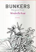 暗堡酒庄风车桃红葡萄酒(Bunkers Wines Windmills Rose, Margaret River, Australia)