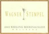 Wagner-Stempel Siefersheimer Hollberg Riesling Beerenauslese, Rheinhessen, Germany