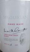 麦格根手工西拉干红葡萄酒(McGuigan Handmade Shiraz,Langhorne Creek,Australia)