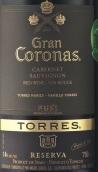 桃乐丝特级王冠珍藏赤霞珠干红葡萄酒(Torres Gran Coronas Reserva Cabernet Sauvignon,Penedes,Spain)