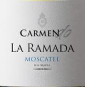卡门拉玛达麝香干白葡萄酒(Carmen La Ramada Moscatel,Maule Valley,Chile)