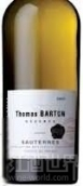 巴顿嘉斯蒂托马斯巴顿珍藏苏玳甜白葡萄酒(Barton & Guestier Thomas Barton Reserve Sauternes, Bordeaux, France)