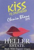 海勒加利福尼亚之吻白诗南干白葡萄酒(Heller Estate Kiss of California Dry Chenin Blanc,Carmel ...)