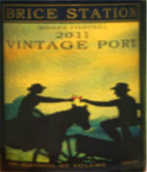 布莱斯站酒庄年份波特酒(Brice Station Vintage Port, California, USA)