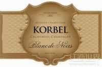 科贝尔珍藏白中黑起泡酒(Korbel Reserve Blanc de Noir,USA)
