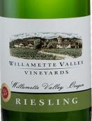 威拉美特谷酒庄雷司令干白葡萄酒(Willamette Valley Vineyards Riesling, Willamette Valley, USA)