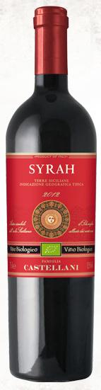 卡斯特拉尼黑珍珠梅洛干红葡萄酒(Castellani Nero d'Avola Merlot Sicilia IGT,Sicily,Italy)