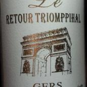 回环酒庄干白葡萄酒(Retour Triomppihal Gers,Languedoc-Roussillon,France)
