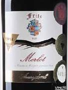弗里茨酒庄梅洛干红葡萄酒(Fritz Winery Merlot,Szekszard,Hungary)