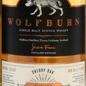 狼灼极光雪莉桶陈苏格兰单一麦芽威士忌(Wolfburn Aurora Sherry Oak Single Malt Scotch Whisky,...)