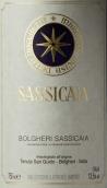 西施佳雅红葡萄酒(Tenuta San Guido Sassicaia, Tuscany, Italy)